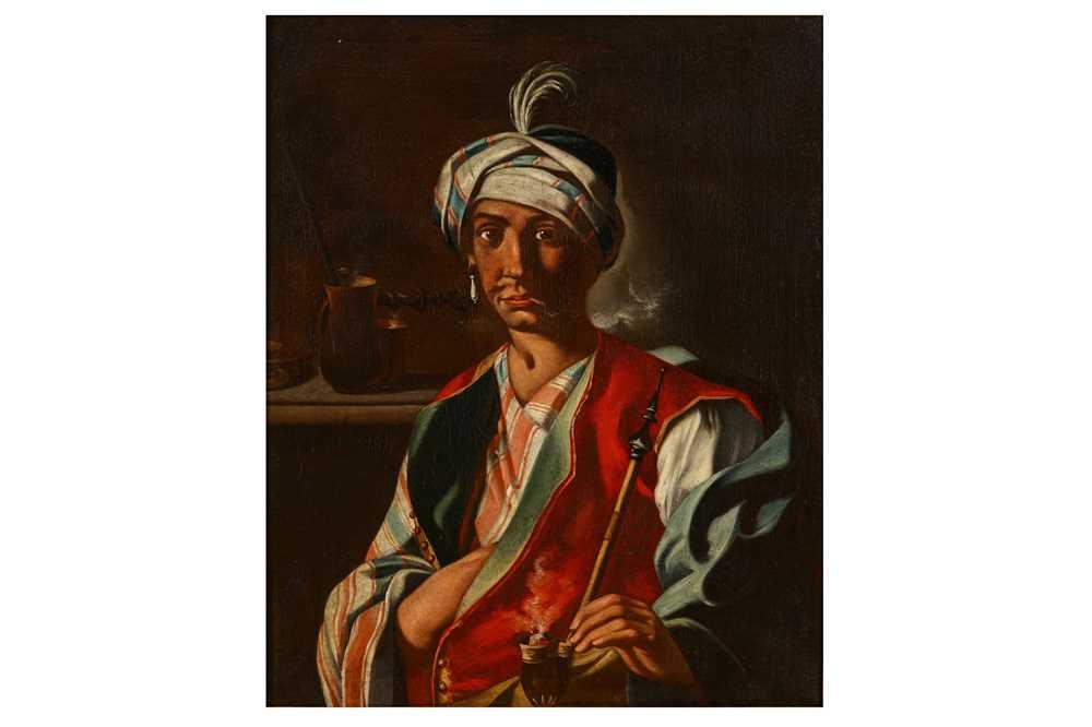 Lot 47-FOLLOWER OF GIUSEPPE BONITO (CATSELLAMARE DI STABIA 1707 – NAPLES 1789)