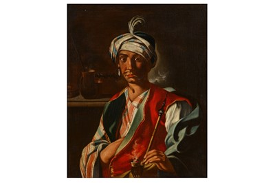 Lot 47-FOLLOWER OF GIUSEPPE BONITO (CATSELLAMARE DI STABIA 1707 – NAPLES 1789)