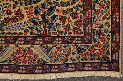 Lot 40-A FINE ANTIQUE KIRMAN PRAYER RUG, SOUTH PERSIA