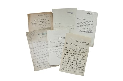 Lot 128-Autograph Collection.- Incl. William Crooks