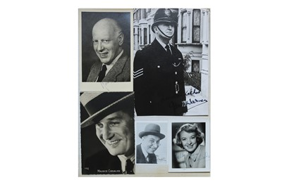 Lot 51-Photograph Collection.- Actors & Entertainers