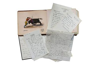 Lot 125-Autograph Collection.- Authors & Musicians