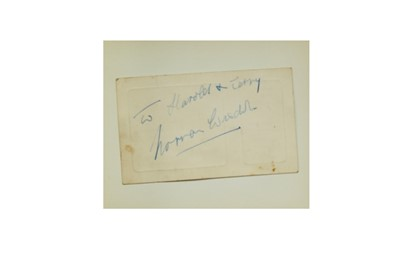 Lot 19-Autograph Albums.- Actors & Entertainers