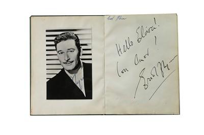 Lot 17-Autograph Album.- Incl. Charlie Chaplin