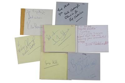 Lot 45-Autographs Collection.