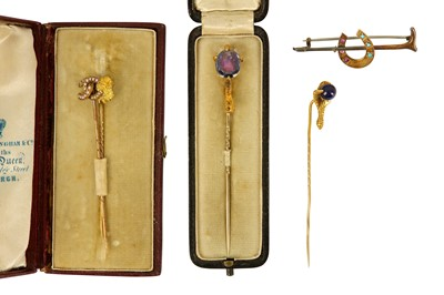 Lot 109-A collection of stick pins
