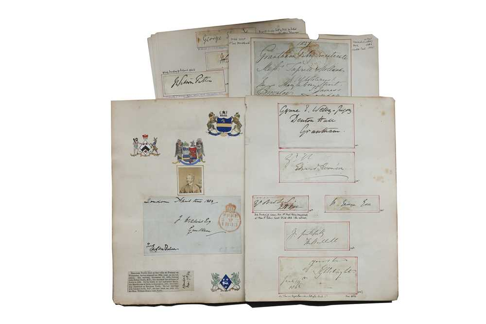 Lot 32-Autograph Collection.- English Aristocracy