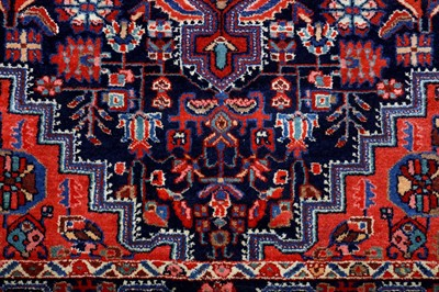 Lot 43-AN ANTIQUE FERAGHAN RUG, WEST PERSIA