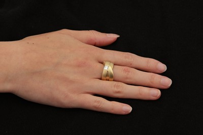 Lot 19-A 'Kit and Kaboodle' diamond-set ring and earclips, by Boodles