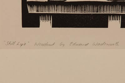 Lot 12 - EDWARD WADSWORTH, A.R.A (1889–1949)