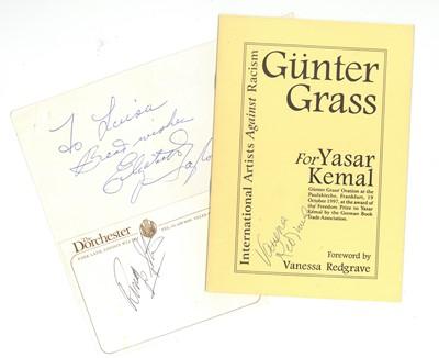 Lot 38-Autograph Collection.- Miscellaneous