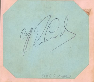 Lot 21-Autograph Albums.- Actors & Entertainers