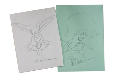 Lot 28-Autograph Collection.- Cartoonists