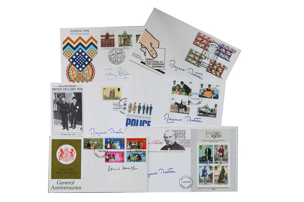 Lot 46-First Day Covers.- British Politicians