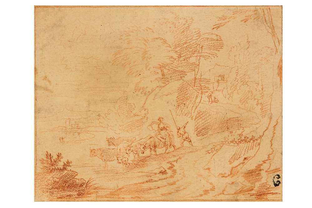 Lot 20-FOLLOWER OF GASPARD DUGHET (ROME 1615 - 1675)
