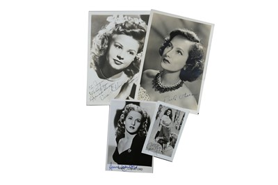 Lot 62-Photograph Collection.- Vintage Hollywood