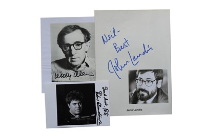 Lot 31-Autograph Collection.- Directors & Producers