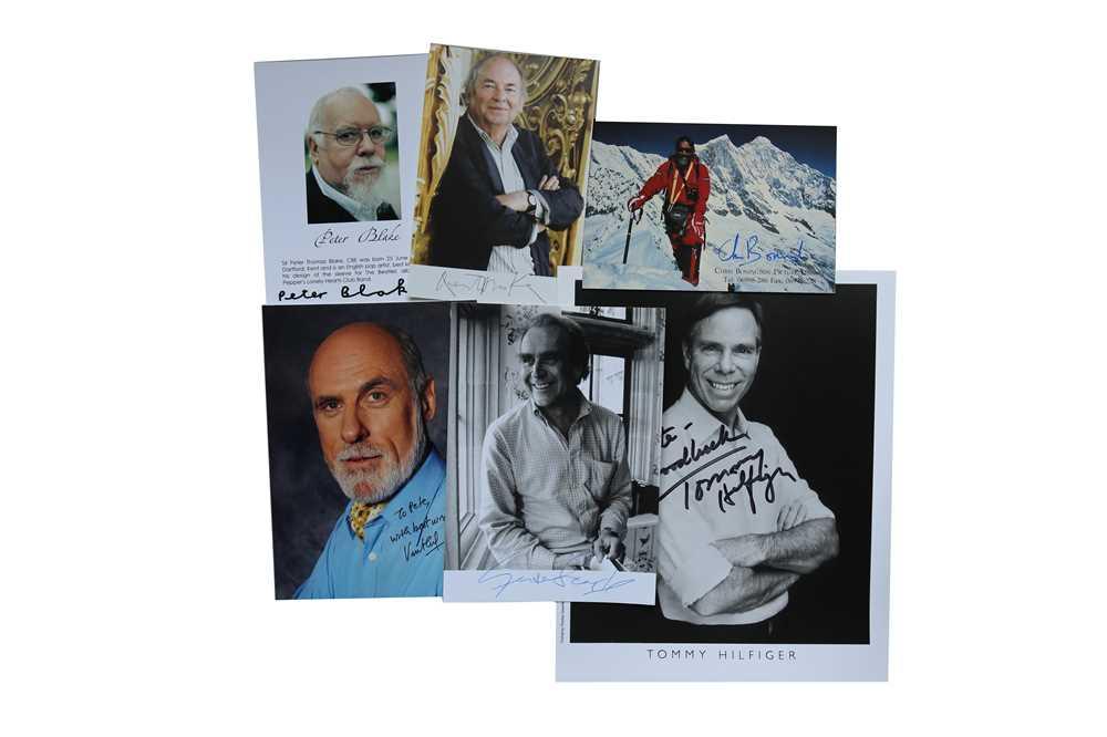 Lot 39-Autograph Collection.- Miscellaneous