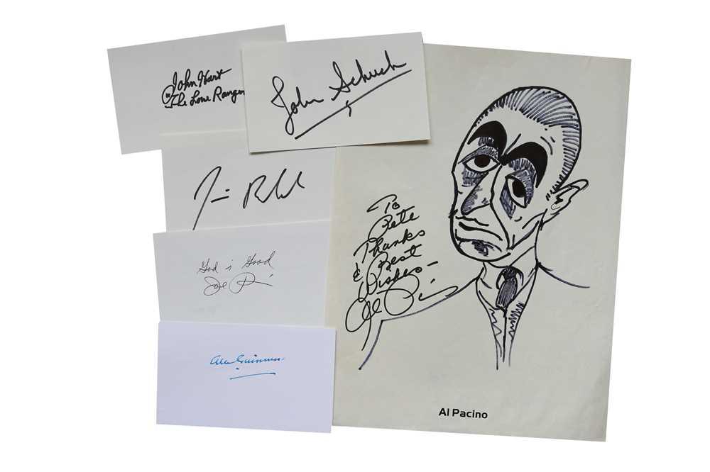 Lot 23-Autograph Collection.- Actors