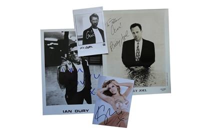 Lot 40-Autograph Collection.- Music Interest