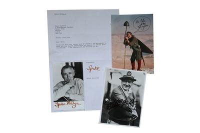 Lot 127-Autograph Collection.- Comedians
