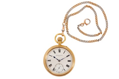 Lot 10-BROCK POCKET WATCH.