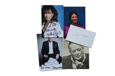 Lot 25-Autograph Collection.- Authors