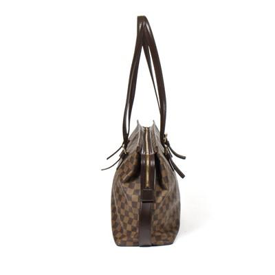 Lot 9-Louis Vuitton Damier Ebene Chelsea Tote