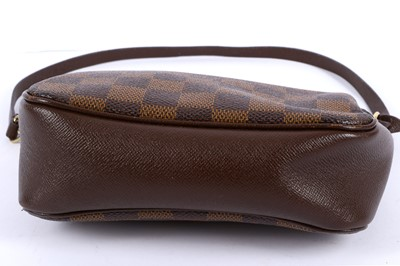 Lot 14-Louis Vuitton Damier Ebene Navona Pochette