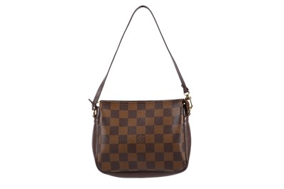 Lot 14-Louis Vuitton Damier Ebene Navona Pochette