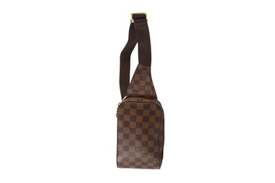 Lot 19-Louis Vuitton Damier Ebene Geronimos