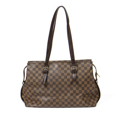 Lot 13-Louis Vuitton Damier Ebene Chelsea Tote