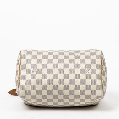 Lot 3-Louis Vuitton Damier Azur Speedy 25