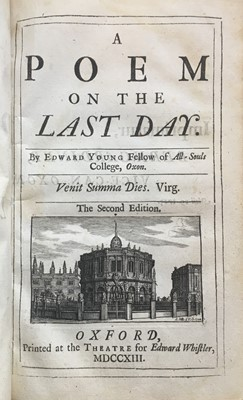 Lot 94-Poems.- Young (Edward)
