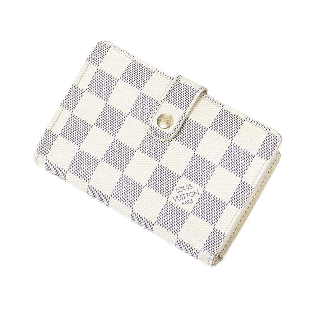 Lot 7-Louis Vuitton Damier Azur French Wallet