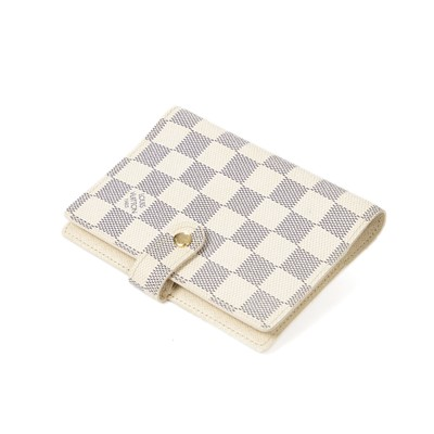 Lot 5-Louis Vuittion Damier Azur Agenda Cover PM