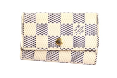 Lot 6-Louis Vuitton Damier Azur Key Case