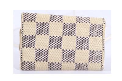 Lot 6-Louis Vuitton Damier Azur Key Case