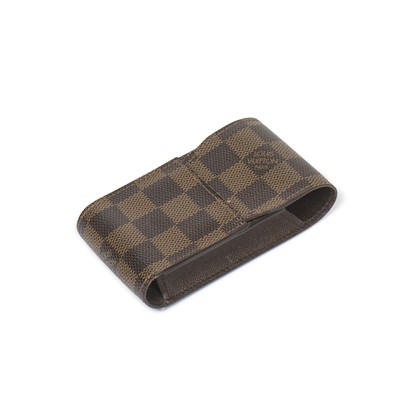 Lot 24-Louis Vuitton Damier Ebene Cigarette Case