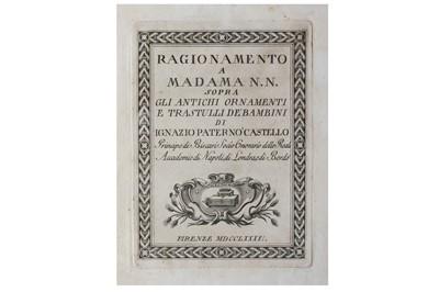Lot 3-Archelogy.- Paternó Castello (Ignazio)