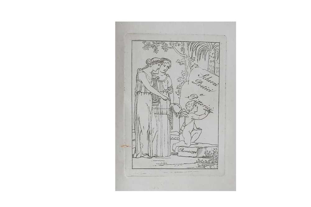 Lot 9-Bodoni Press.- [De Rossi (Giovanni Gherardo)]