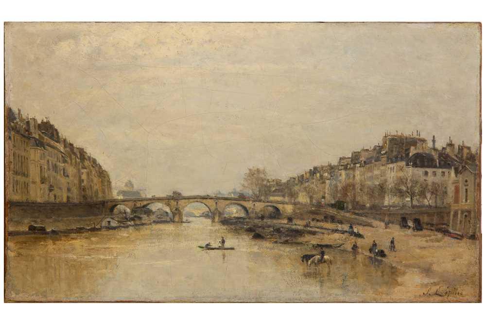 Lot 104-STANISLAS LEPINE (FRENCH 1835–1892)