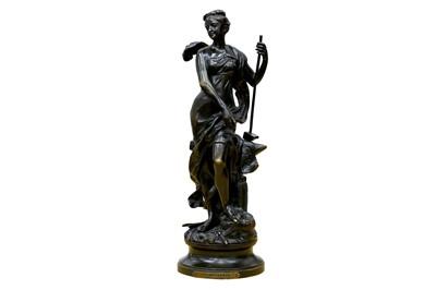Lot 127-A.Gaudel - Bronze Figure