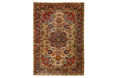 Lot 66-AN ANTIQUE TABRIZ RUG, NORTH-WEST PERSIA