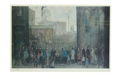 Lot 22-LAURENCE STEPHEN LOWRY, R.A. (1887-1976)