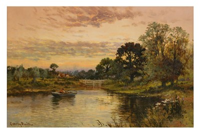 Lot 171-CHARLES WELBY SMITH (BRITISH ACT.1857-1908)