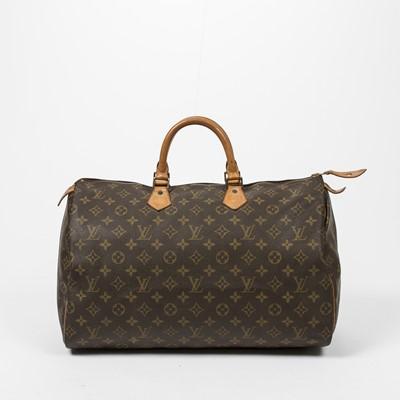 Lot 78-Louis Vuitton Monogram Speedy 40