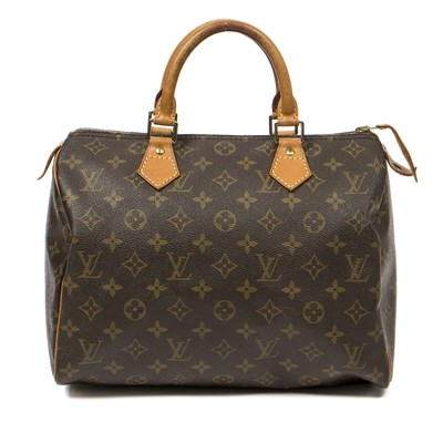 Lot 61-Louis Vuitton Monogram Speedy 30