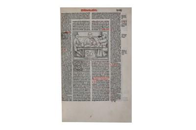 Lot 14-Canon Law.- Decretum Gratiani