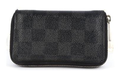 Lot 57-Louis Vuitton Damier Graphite Zippy Wallet
